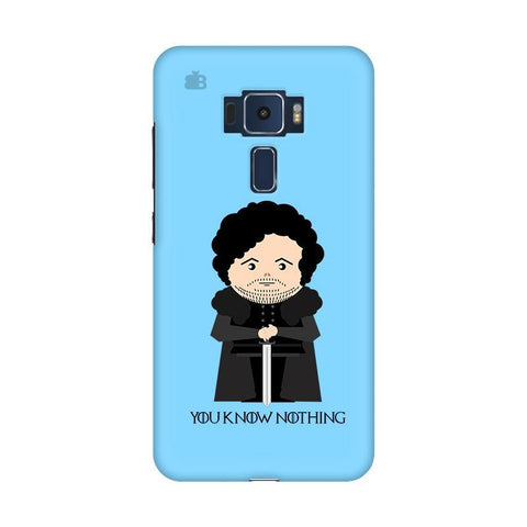 You Know Nothing Asus Zenfone 3 Phone Cover