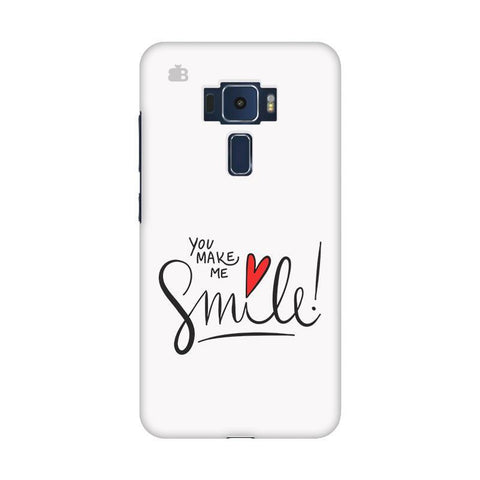 You make me Smile Asus Zenfone 3 Phone Cover