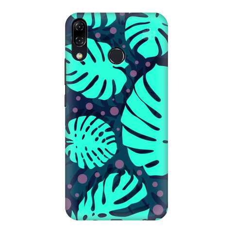 Tropical Leaves Pattern Asus Zenfone 5Z Cover