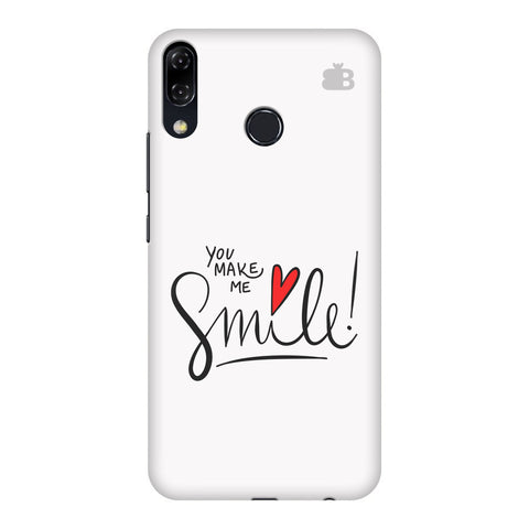 You make me Smile Asus Zenfone 5Z Cover