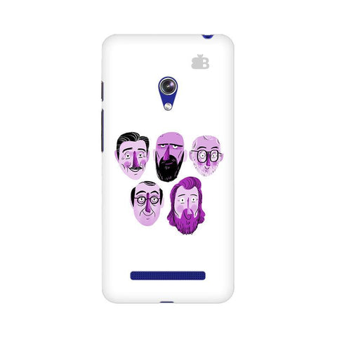 5 Bearded Faces Asus Zenfone 5 Phone Cover
