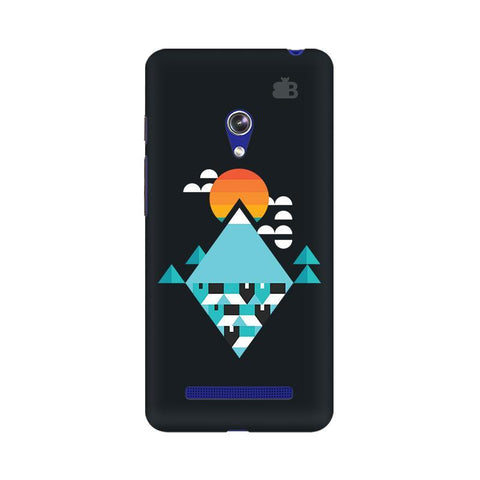 Abstract Mountains Asus Zenfone 5 Phone Cover