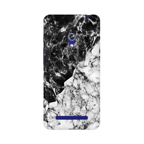 Black White Marble Asus Zenfone 5 Phone Cover