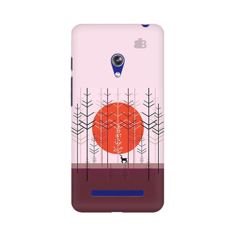 Deer in Forest Asus Zenfone 5 Phone Cover