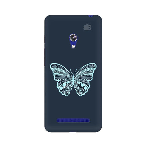 Ethnic Butterfly Art Asus Zenfone 5 Phone Cover