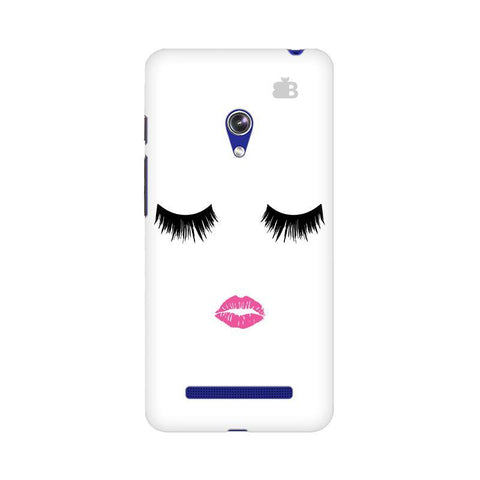 Lashes and Lips Asus Zenfone 5 Phone Cover