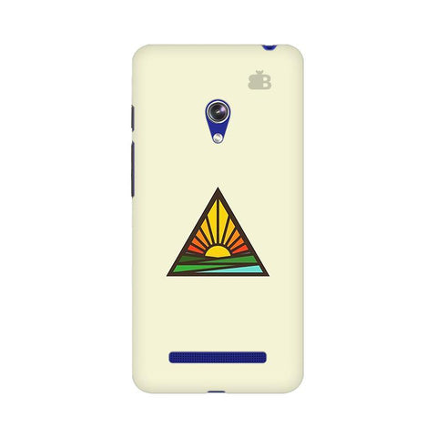 Triangular Sun Asus Zenfone 5 Phone Cover