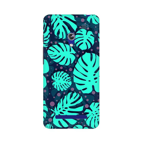 Tropical Leaves Pattern Asus Zenfone 5 Phone Cover