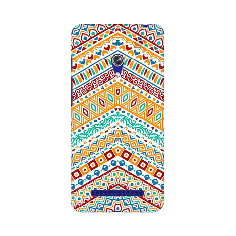 Wavy Ethnic Art Asus Zenfone 5 Phone Cover