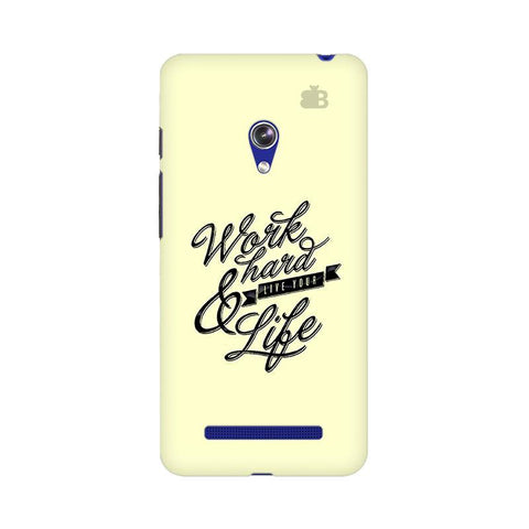 Work Hard Asus Zenfone 5 Phone Cover