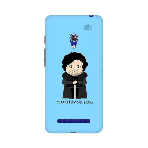 You Know Nothing Asus Zenfone 5 Phone Cover