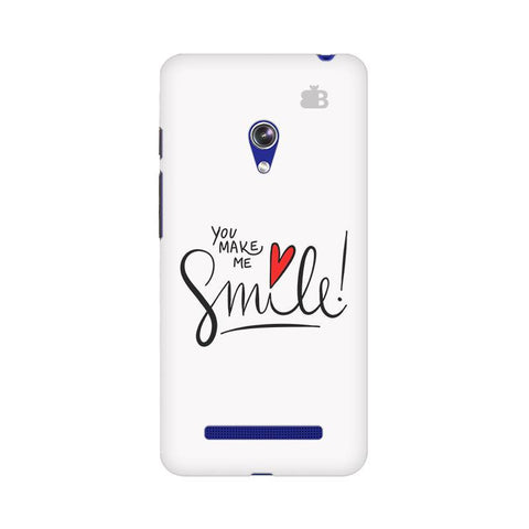 You make me Smile Asus Zenfone 5 Phone Cover