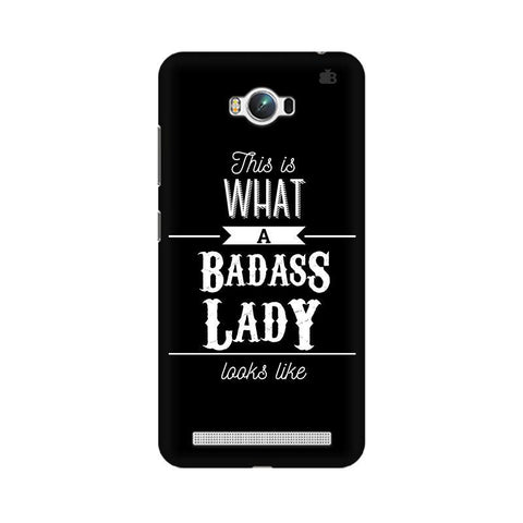 Badass Lady Asus Zenfone Max Phone Cover