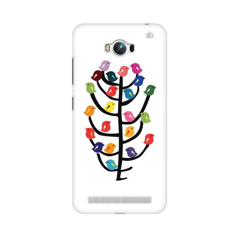 Birds on Trees Asus Zenfone Max Phone Cover