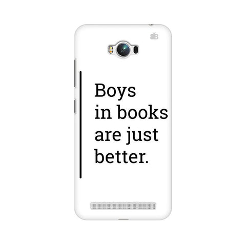 Boys in Books Asus Zenfone Max Phone Cover