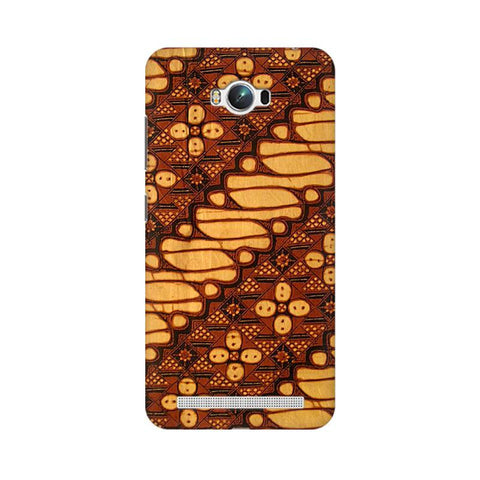 Brown Batik Asus Zenfone Max Phone Cover