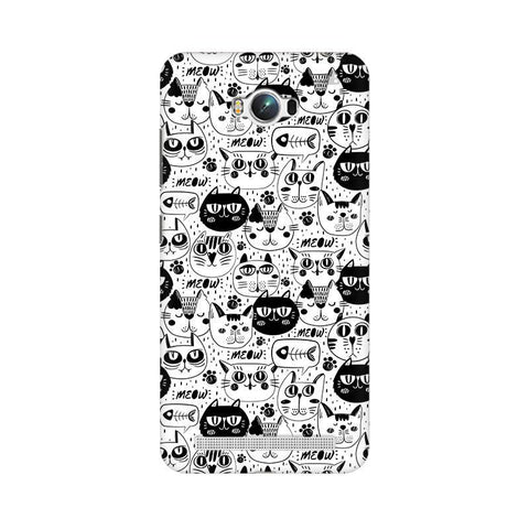 Cute Cats Pattern Asus Zenfone Max Phone Cover