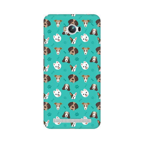 Doggie Pattern Asus Zenfone Max Phone Cover
