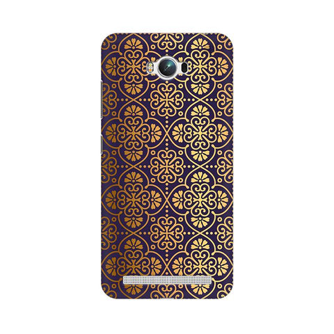 Gold Ornament Asus Zenfone Max Phone Cover