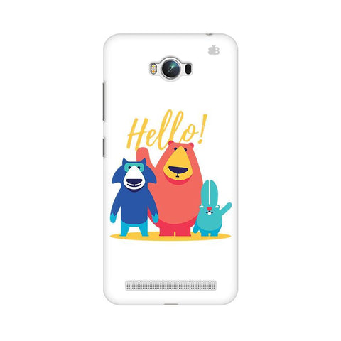 Hello Asus Zenfone Max Phone Cover