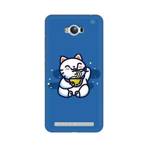 KItty eating Noodles Asus Zenfone Max Phone Cover