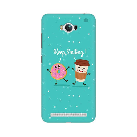 Keep Smiling Asus Zenfone Max Phone Cover