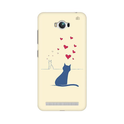 Kitty in Love Asus Zenfone Max Phone Cover