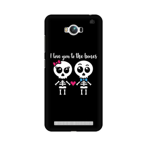 Love to the Bones Asus Zenfone Max Phone Cover