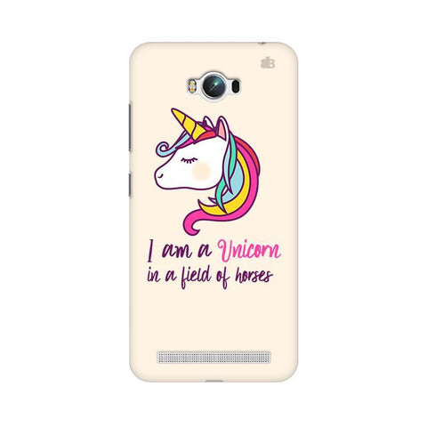 Unicorn in Horses Asus Zenfone Max Phone Cover
