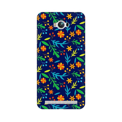 Vibrant Floral Pattern Asus Zenfone Max Phone Cover