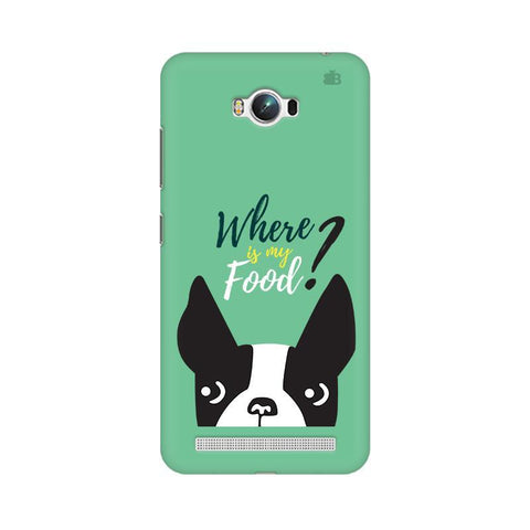 Where is my Food Asus Zenfone Max Phone Cover