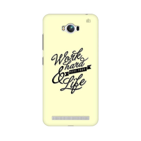 Work Hard Asus Zenfone Max Phone Cover