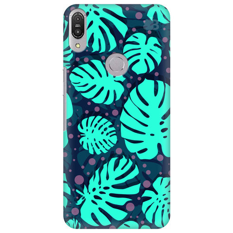 Tropical Leaves Pattern Asus Zenfone Max Pro M1 Cover