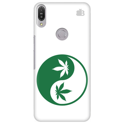 Weed Yin Yang Asus Zenfone Max Pro M1 Cover