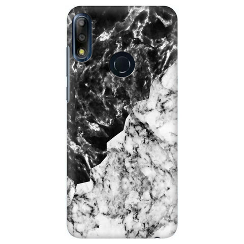 Black White Marble Asus Zenfone Max Pro M2 Cover