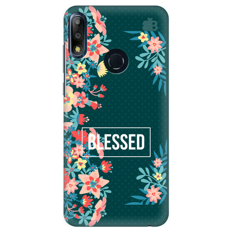 Blessed Floral Asus Zenfone Max Pro M2 Cover