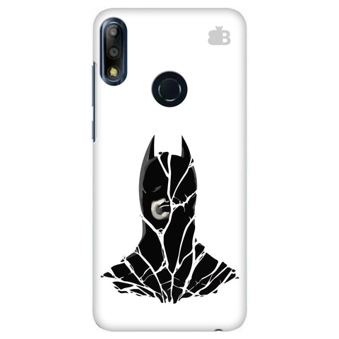Cracked Superhero Asus Zenfone Max Pro M2 Cover