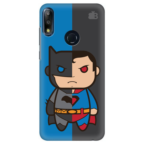 Cute Superheroes Annoyed Asus Zenfone Max Pro M2 Cover