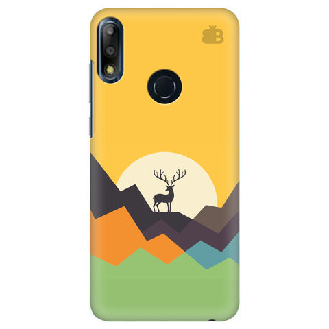 Deer in Mountains Asus Zenfone Max Pro M2 Cover