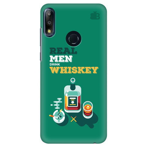 Men and Whiskey Asus Zenfone Max Pro M2 Cover