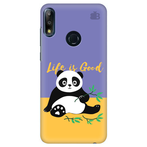 Panda Life is Good Asus Zenfone Max Pro M2 Cover
