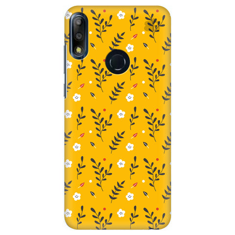 Summer Floral Pattern Asus Zenfone Max Pro M2 Cover