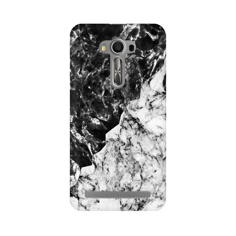 Black White Marble Asus Zenfone Selfie Phone Cover