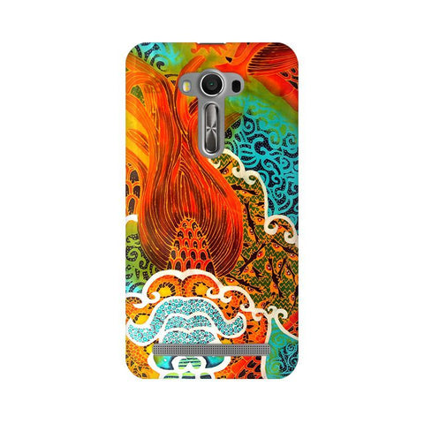Colorful Batik Art Asus Zenfone Selfie Phone Cover