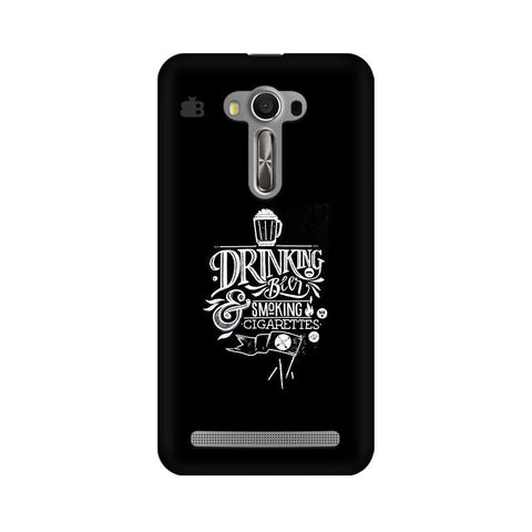 Drinking Beer Asus Zenfone Selfie Phone Cover