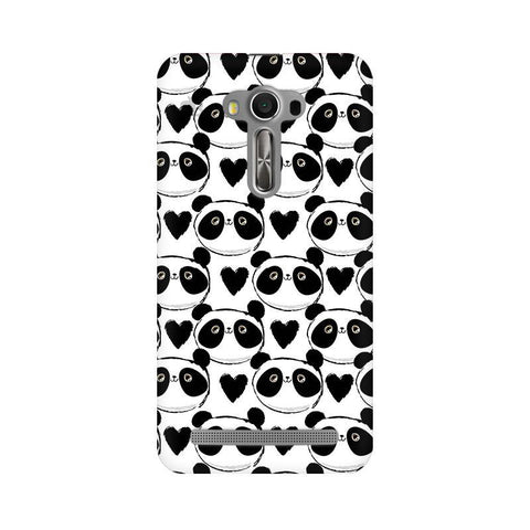 Happy Panda Pattern Asus Zenfone Selfie Phone Cover