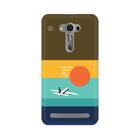 Just Fly Asus Zenfone Selfie Phone Cover