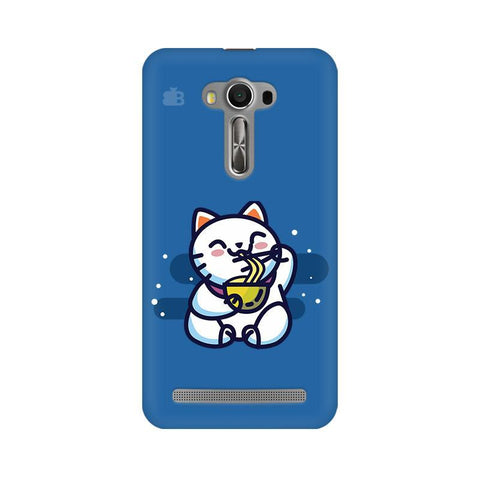 KItty eating Noodles Asus Zenfone Selfie Phone Cover