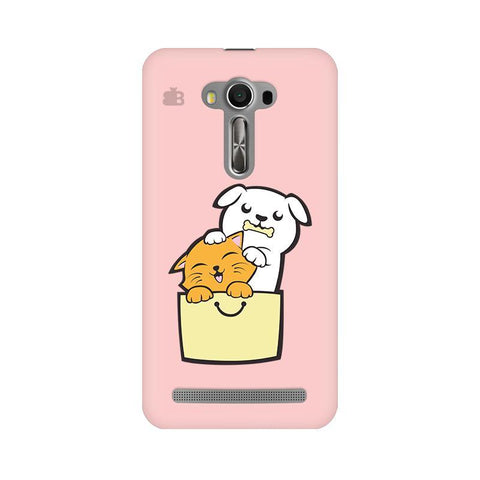 Kitty Puppy Buddies Asus Zenfone Selfie Phone Cover