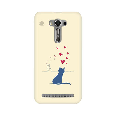 Kitty in Love Asus Zenfone Selfie Phone Cover